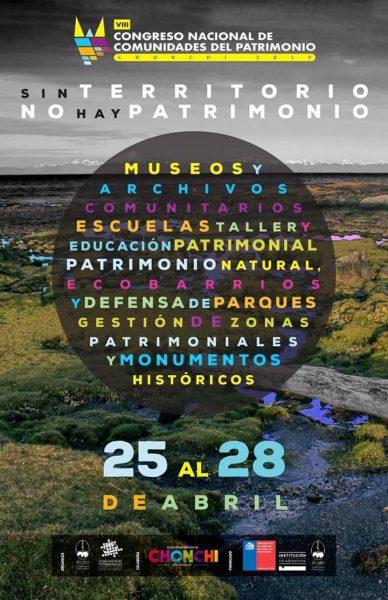 Afiche 8vo Congreso Patrimonio