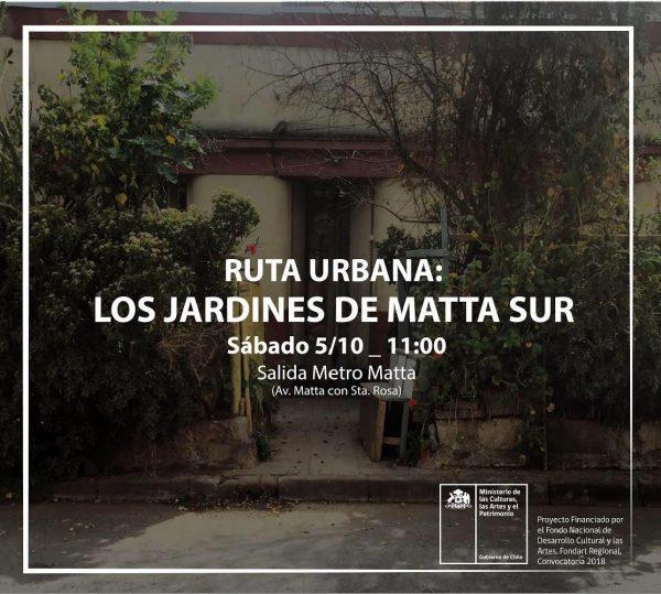 Afiche Ruta Jardines